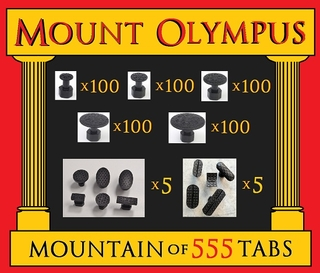 ATLAS Mount Olympus Zugadapterset - 555 ATLAS OLYMPIAN - TITAN - CRONOS TABS Not Made To Break