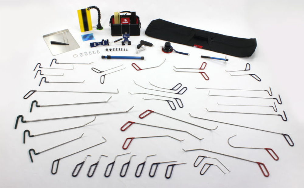 76 1 teile pdr profi werkzeug set ausbeulen ohne lackieren. Black Bedroom Furniture Sets. Home Design Ideas