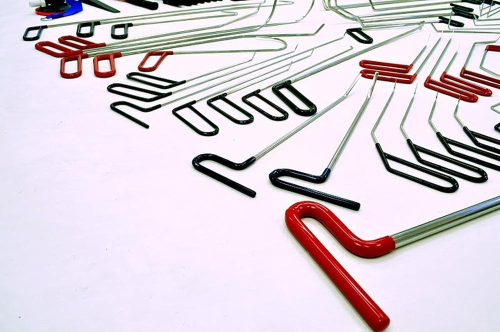 115 teile pdr profi werkzeug set ausbeulen ohne lackieren. Black Bedroom Furniture Sets. Home Design Ideas